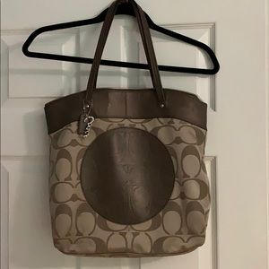 Coach Brown Large Bag